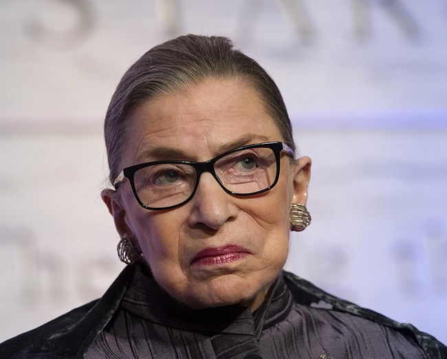 Justice Ginsburg doesn't want to think about a Trump presidency