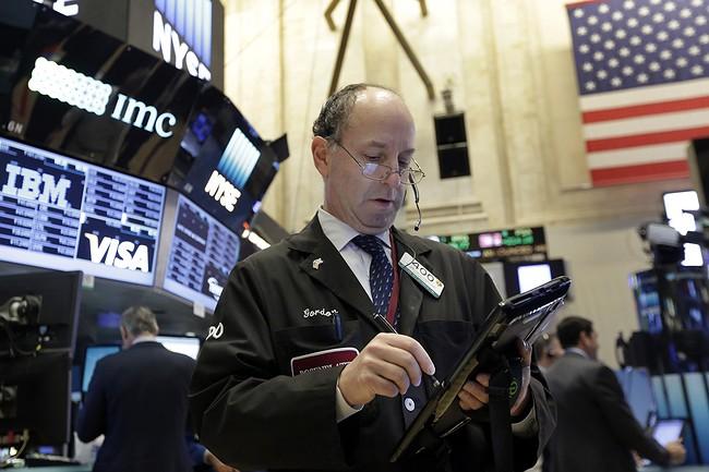 Markets Right Now: Tech stocks slump, leading market lower