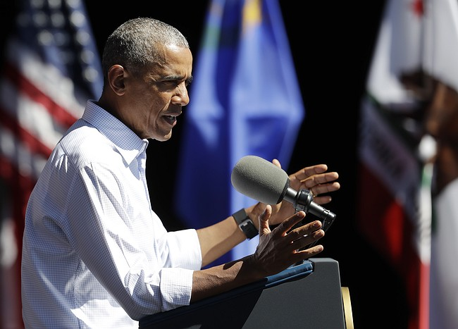President Obama visits Lake Tahoe for climate change summit