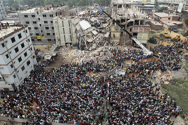 Bangladesh indicts 41 on murder charges in 2013 factory fall
