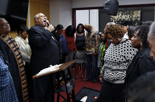 Black pastors issue urgent plea to voters at Sunday services