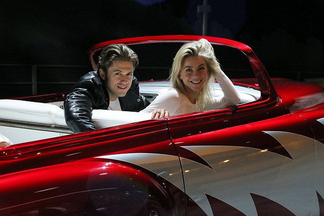 John Travolta in awe of stars in live Grease show