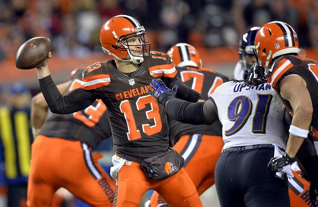 Browns to start Davis, not Manziel at QB this weekend