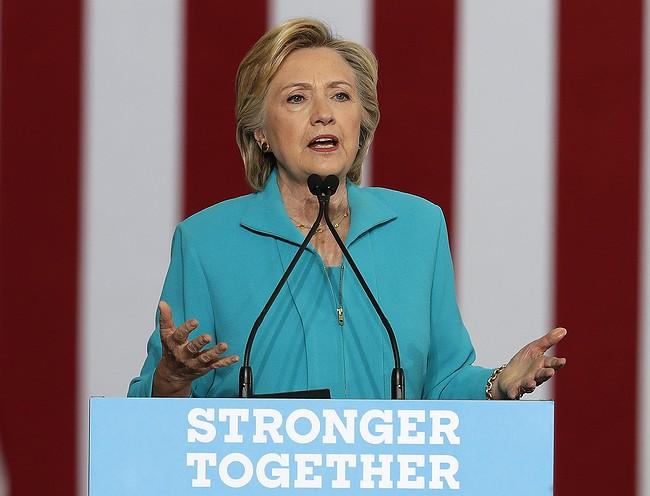 Clinton, Trump participate in security forum