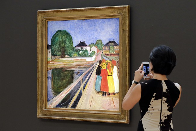 Edvard Munch painting could fetch $50M at Sotheby's