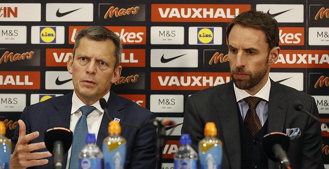 New manager Southgate warns England stars to toe the line