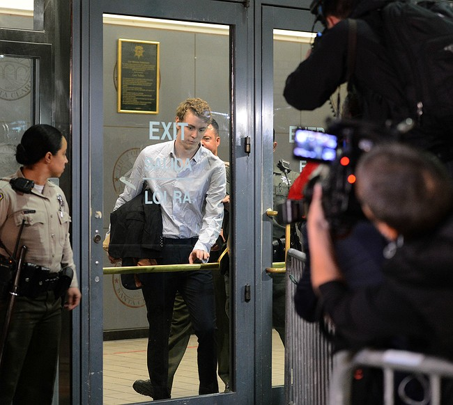Sex-offender swimmer Brock Turner granted early release