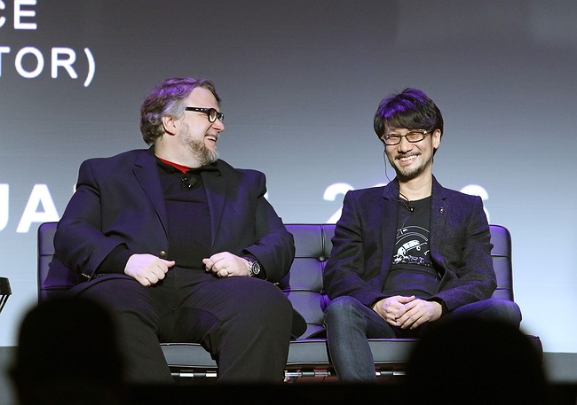 Watch Hideo Kojima and Guillermo del Toro chat live from DICE