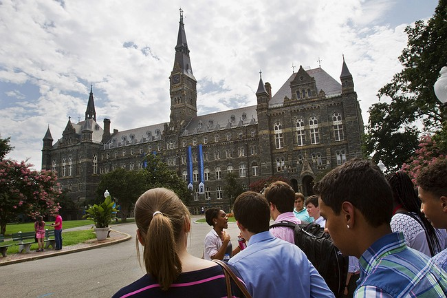 Georgetown Will Offer An Edge In Admissions To Descendants Of Slaves