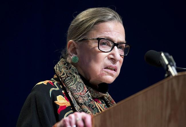 Supreme Court Justice Ruth Bader Ginsburg regrets