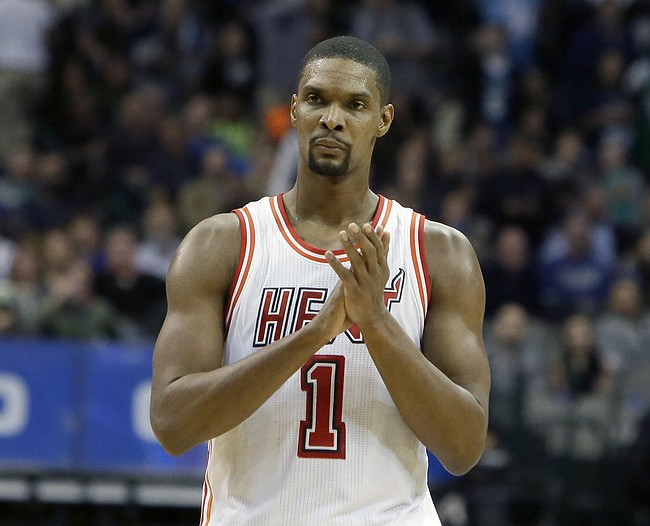 Heat don't clear Chris Bosh to return after failed physical