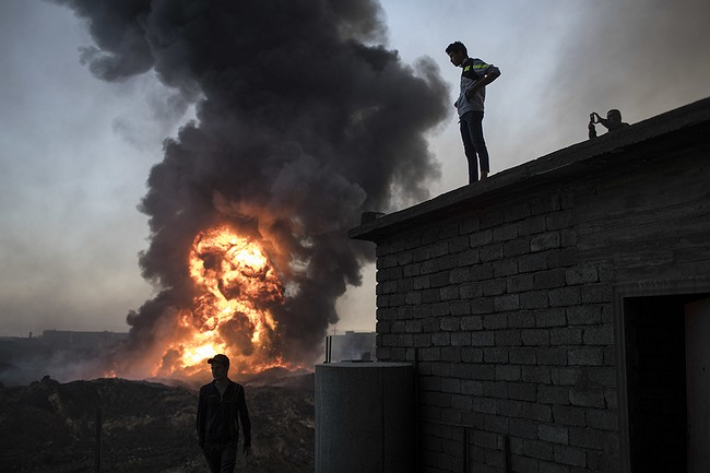 Iraqi forces attack IS in Mosul from northeast