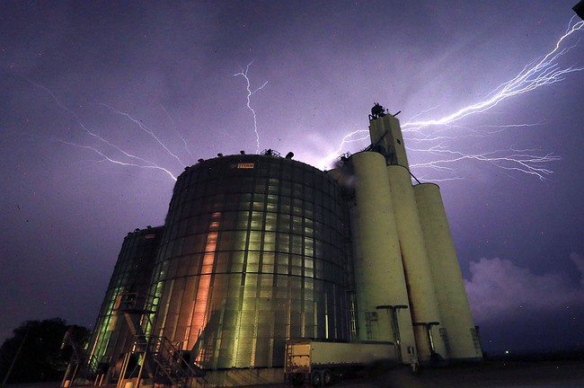 Severe weather, tornadoes again churn through Kansas on Thursday