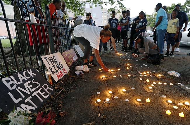 Tyre King shooting: 13-year-old remembered in vigil