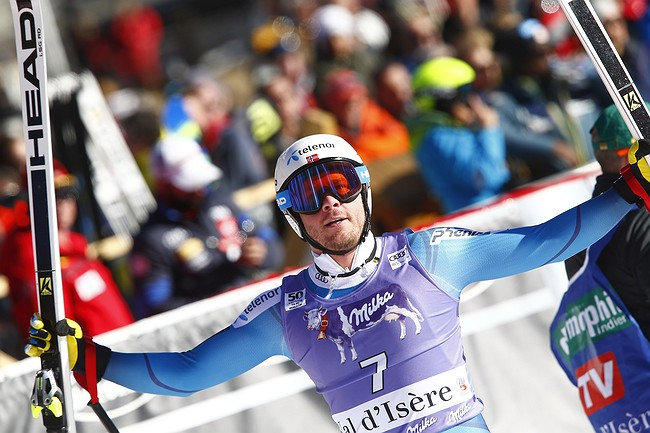 Jansrud, Svindal finish 1-2 in World Cup super-G