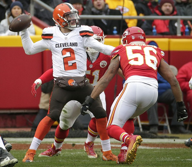 Johnny Manziel May Have A Concussion
