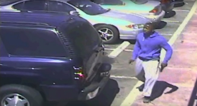 LAPD releases video showing suspect with gun before shooting