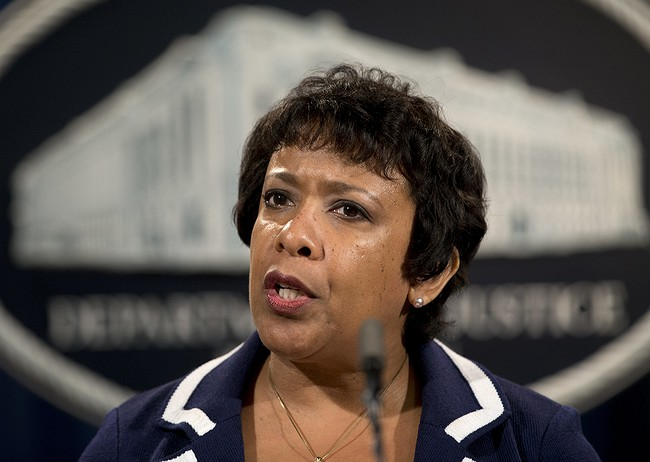 United States attorney general deflects lawmakers' questions on Clinton emails