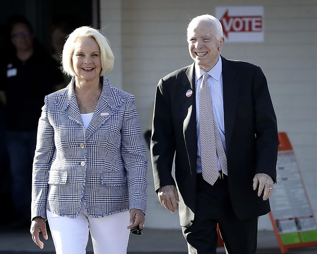 McCain challenge, sheriff's latest bid top Arizona primary