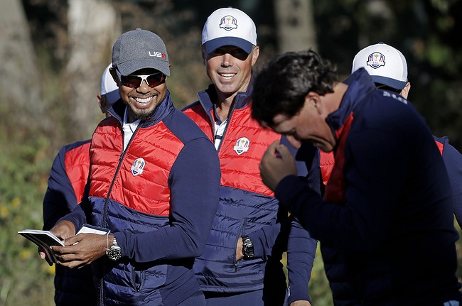 Mickelson 'team leader' of US side, says captain Love