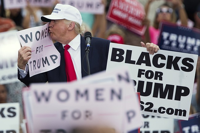 2 women say Donald Trump a groper