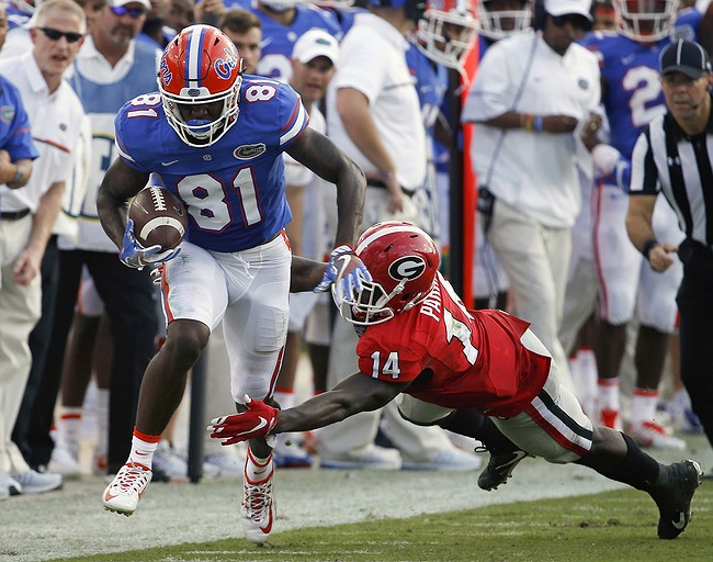 Gators' defense dominant in victory over Bulldogs