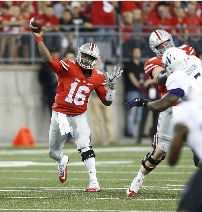 Ohio State Buckeyes survive Northwestern's upset bid