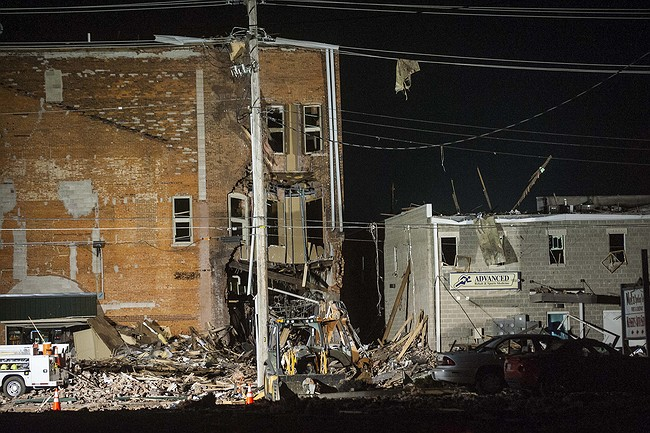 At least one dead after large blast rips through IL town