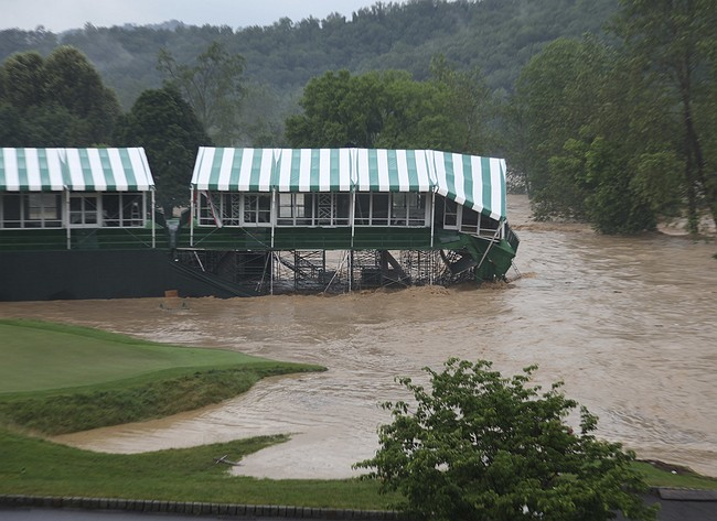 PGA Tour cancels Greenbrier Classic in West Virginia after extensive flood damage