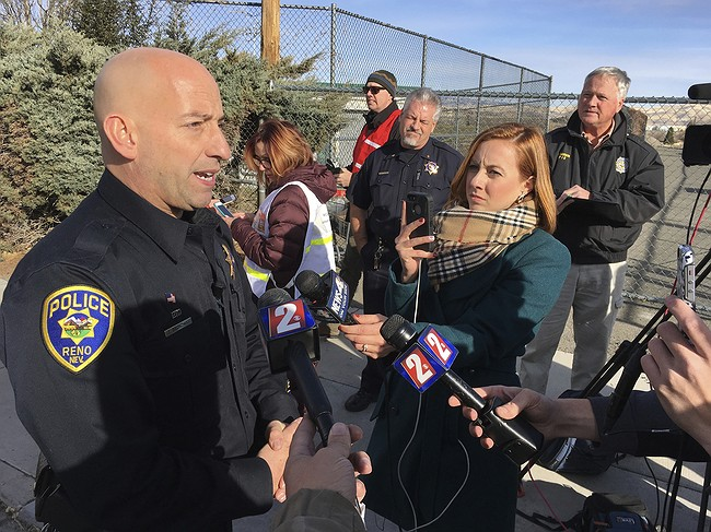 Campus officer shot teen with knife at Nevada high school
