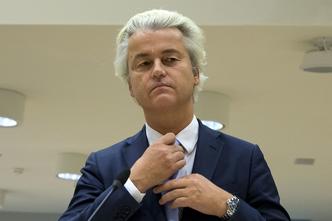 Populist lawmaker Wilders convicted of anti-Moroccan chants