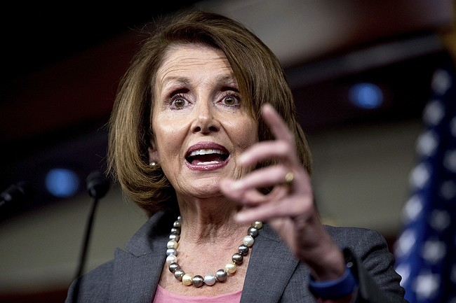 Despite challenge, House Democrats re-elect Pelosi as minority leader