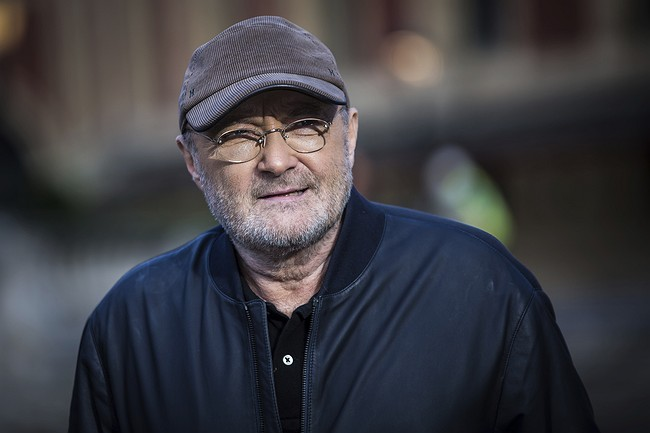 Singer Phil Collins announces comeback gigs for next summer