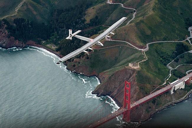 Solar-Powered Plane Resumes Around-the-World Journey