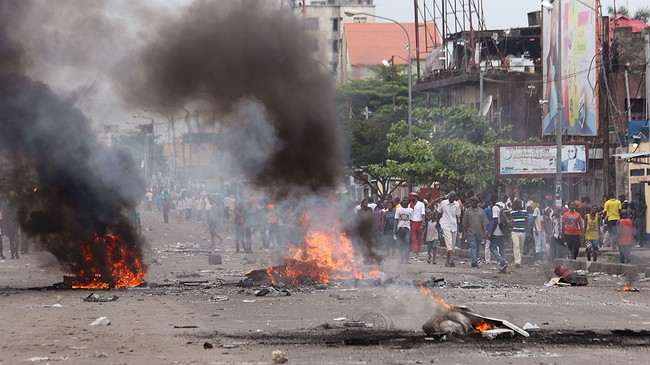 50 killed in anti-government protests in Kinshasa