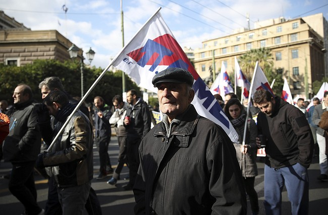Greek Unions Strike Despite Debt Relief Pledge