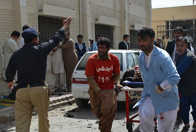 42 people killed in Pakistan hospital bomb attack