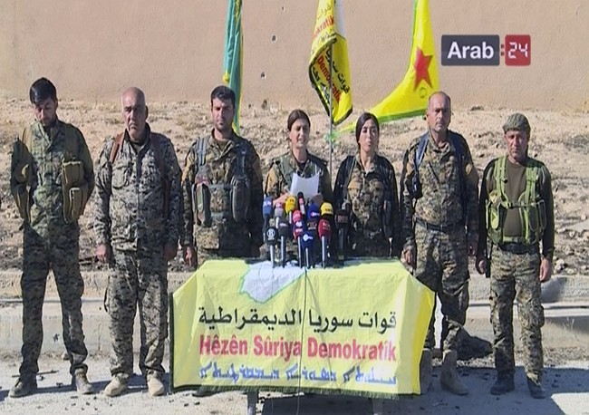 Syria Kurds announce start of campaign to retake Raqqa