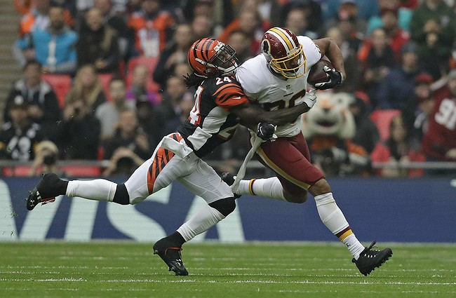 Bengals, Redskins face off in London in early NFL start