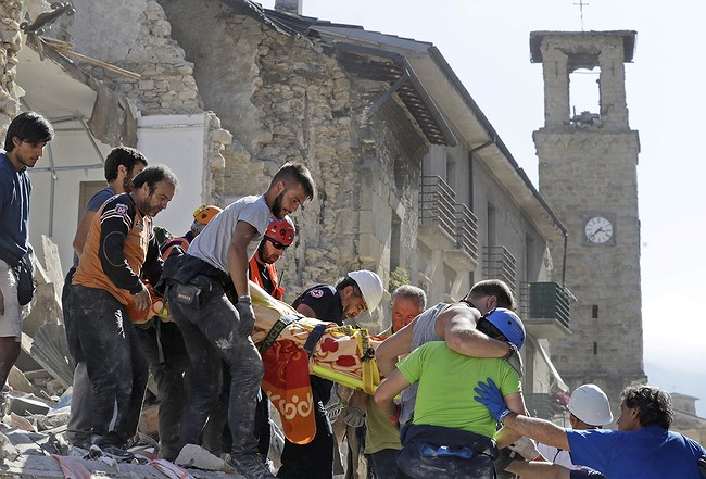 State funeral set for Amatrice after quake survivors rebel