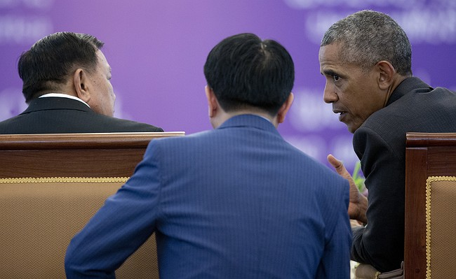 Obama Pledges U.S. Support to Bolster Sanctions on North Korea