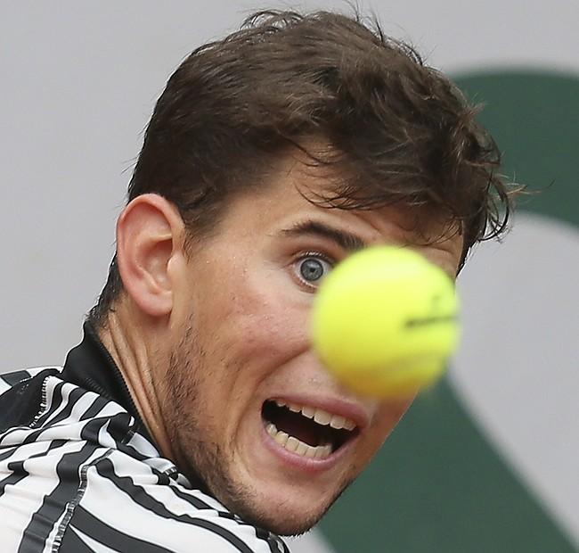 Djokovic feeling 'lucky' after racquet toss