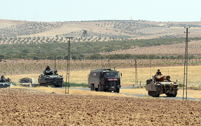 Syrian Kurdish YPG Says Turkish Troops Fire At Their Fighters Along Border