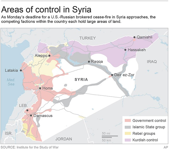 Syria accepts US-Russian ceasefire deal