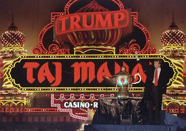 Atlantic City's Trump Taj Mahal Casino Closes Its Doors