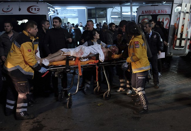 Besiktas condemn Istanbul terror attack after explosion outside Vodafone Arena