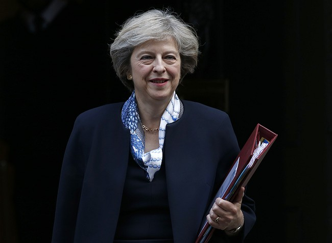 PM May challenged over right to implement Brexit