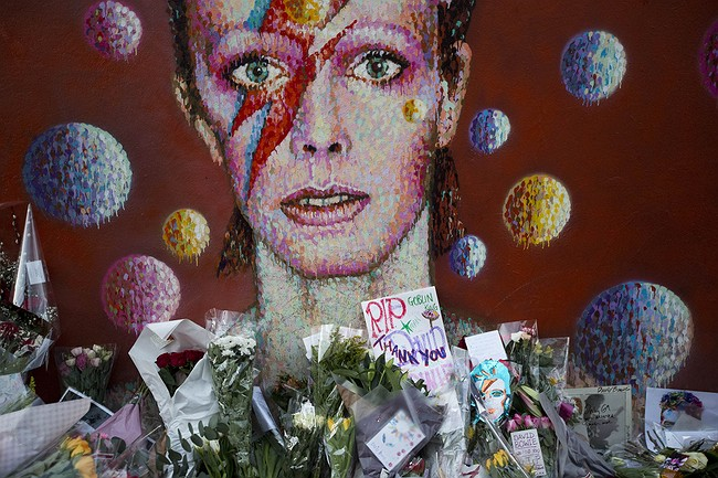 Angie mourns Bowie as Rolling Stones pay tribute