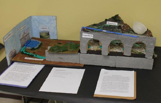 New School Academic Calendar >> Green Vale's 6th Grade Recreates Ancient Roman Engineering ...