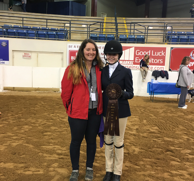 The Knox School S Iea Equestrian Team Team Places At